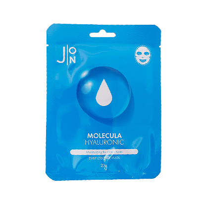 Ткан. маска для лица ГИАЛУР. КИСЛОТА MOLECULA HYALURONIC DAILY ESSENCE MASK 23 мл, 1 шт.