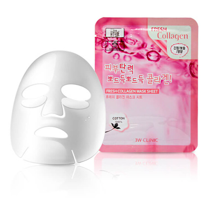 Тканевая маска для лица КОЛЛАГЕН Fresh Collagen Mask Sheet, 1 шт