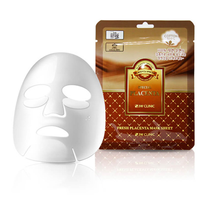 Тканевая маска для лица ПЛАЦЕНТА Fresh Placenta Mask Sheet, 1 шт