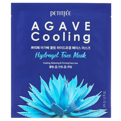 Гидрогелевая маска для лица Petitfee c агавой Agave Cooling Hydrogel Face Mask, 1 шт